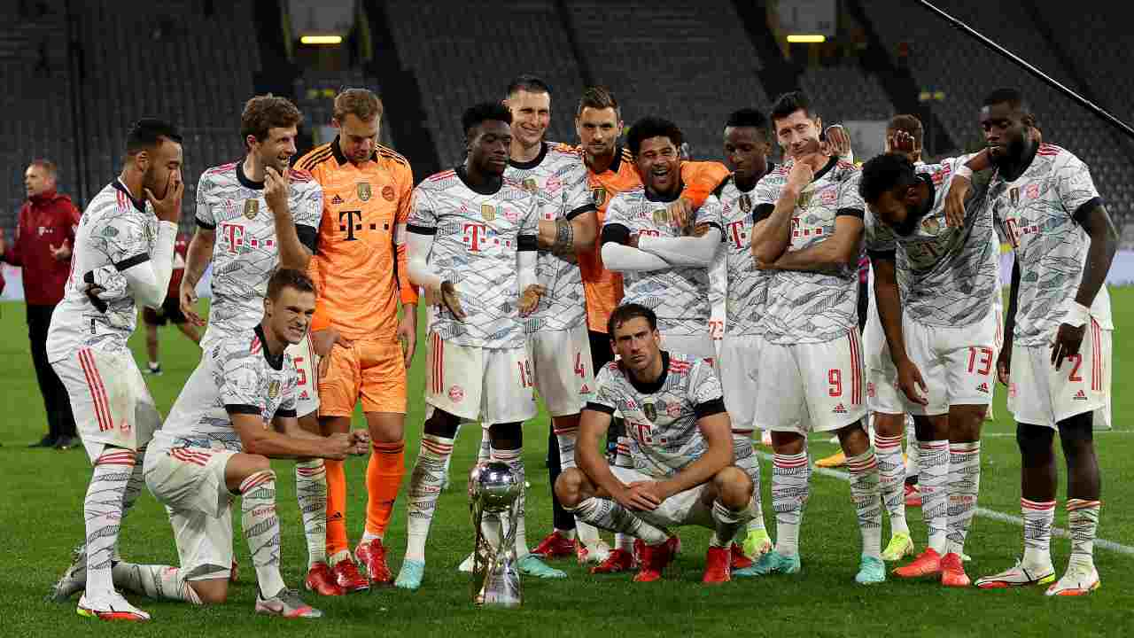 Bayern in posa - Getty Images