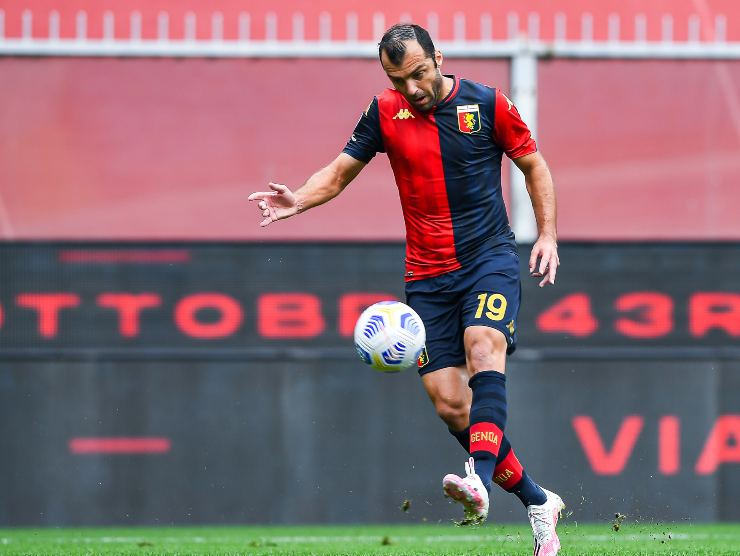 colpo di classe Pandev - Getty Images