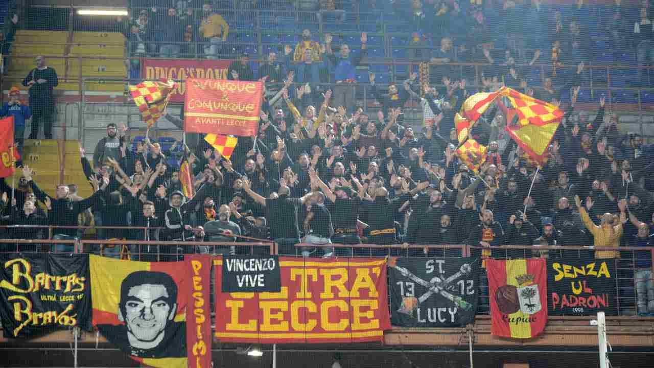 ultrà del Lecce - Getty Images