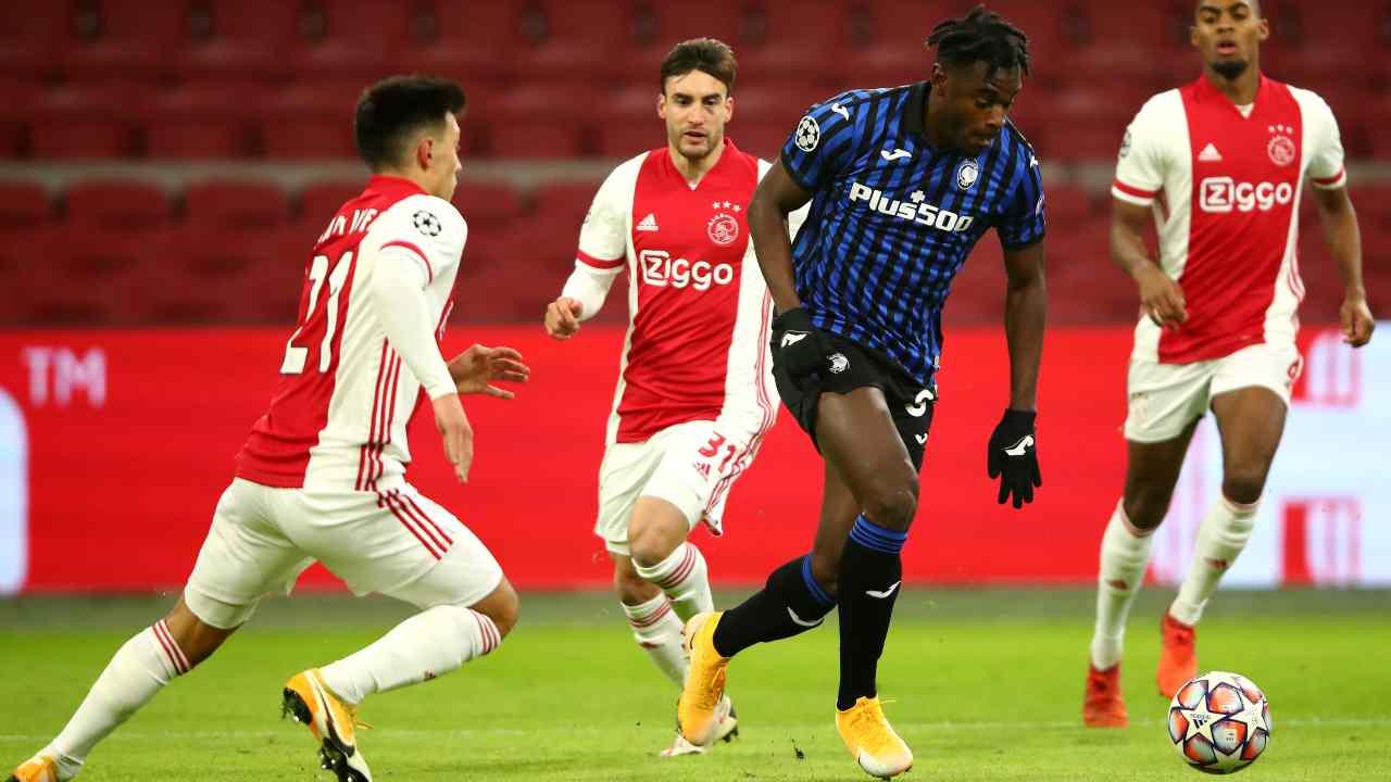 Ajax-Atalanta - Getty Images