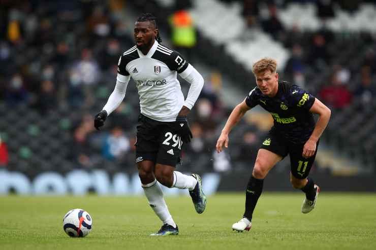 Andre-Frank Zambo Anguissa in campo con il Fulham