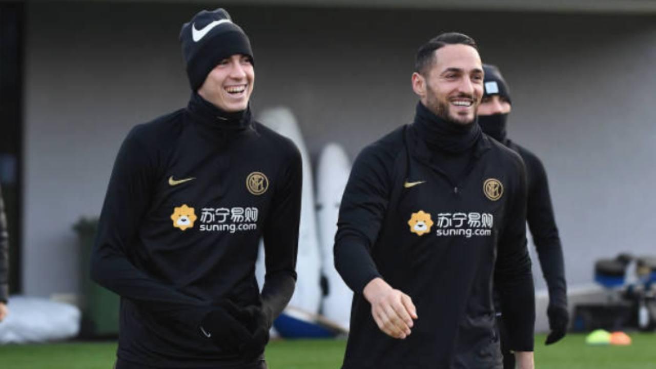 Bastoni e D'Ambrosio, difensori dell'Inter