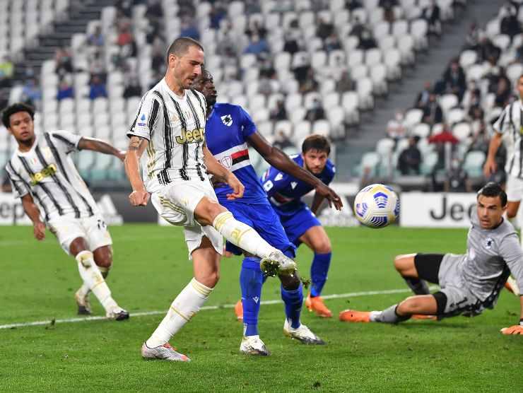 Bonucci in gol - Getty Images