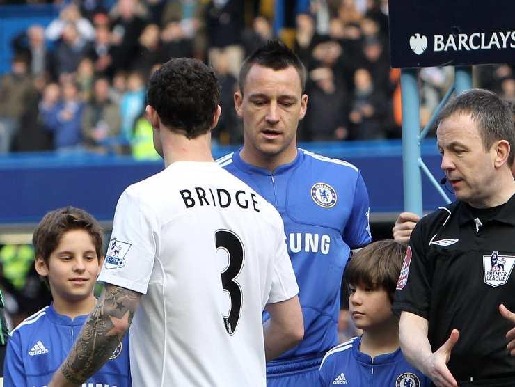 Bridge non stringe la mano a Terry