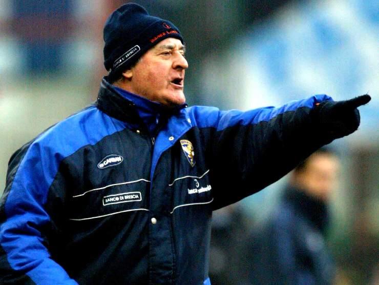 Carlo Mazzone, allenatore del Brescia