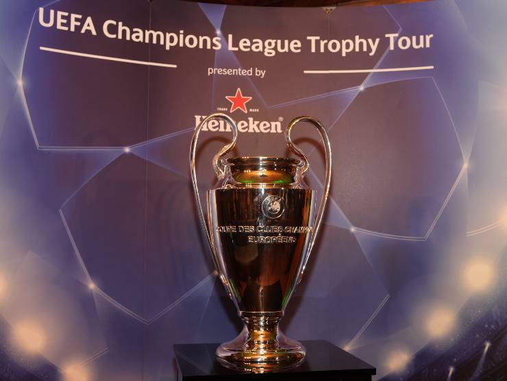 Champions League trofeo