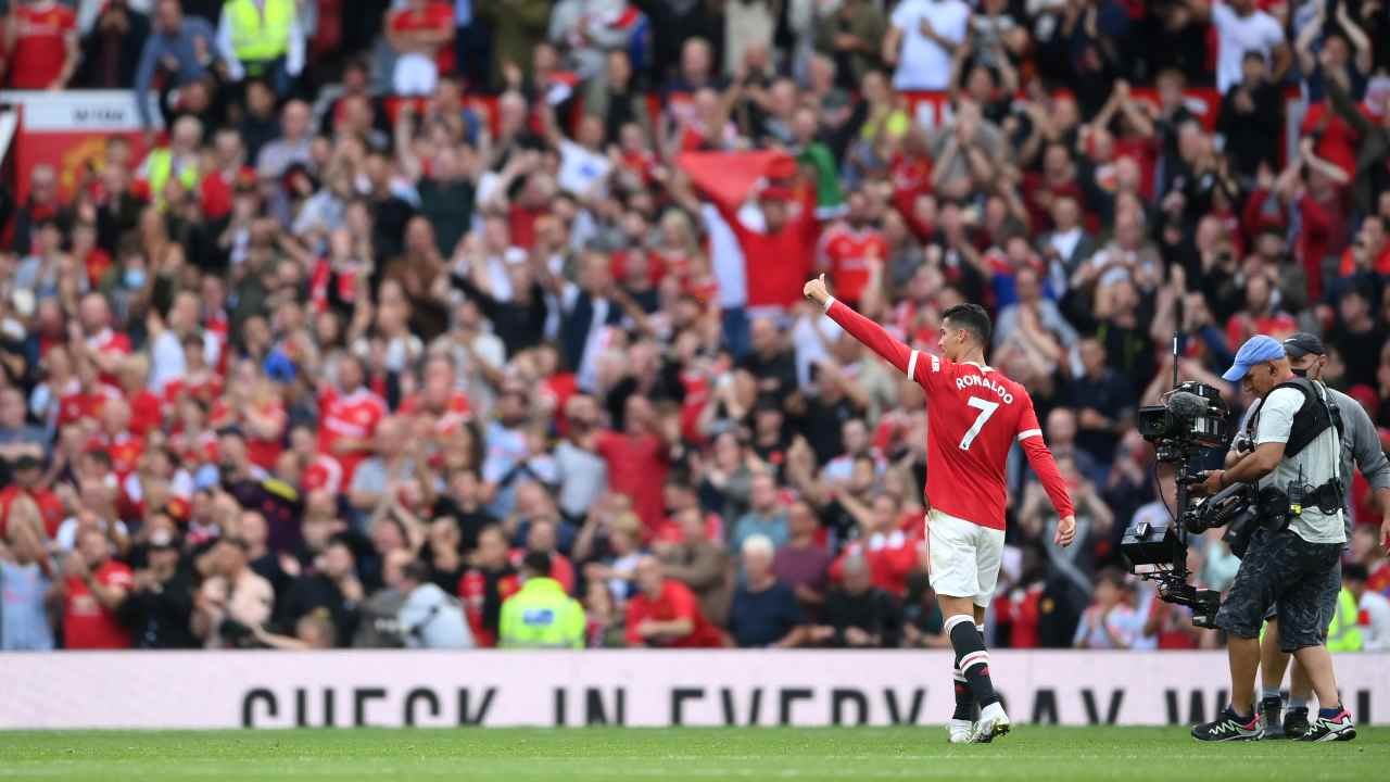 Cristiano Ronaldo di spalle