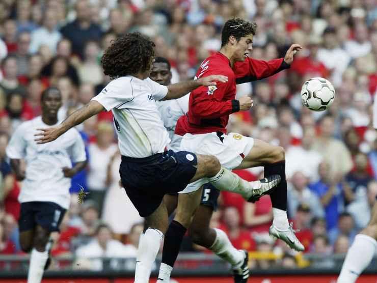Cristiano Ronaldo debutto Manchester
