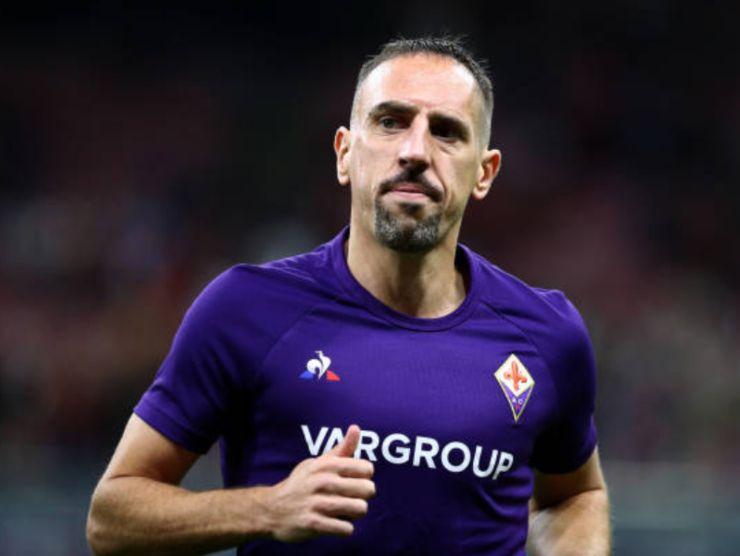 Frank Ribery, obiettivo dell'Hellas Verona
