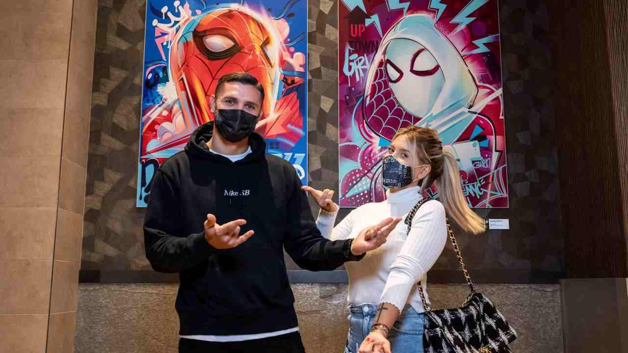 Icardi Wanda Nara Spider Man