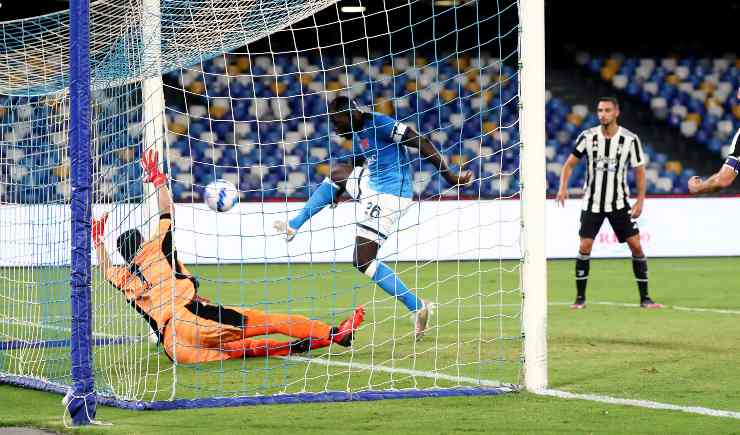 Il gol di Koulibaly contro la Juventus