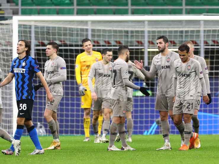 Inter Shakhtar Champions