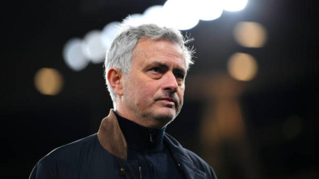 Jose Mourinho, l'allenatore della Roma