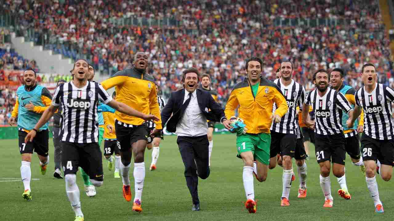 Conte esulta con Juve - Getty Images