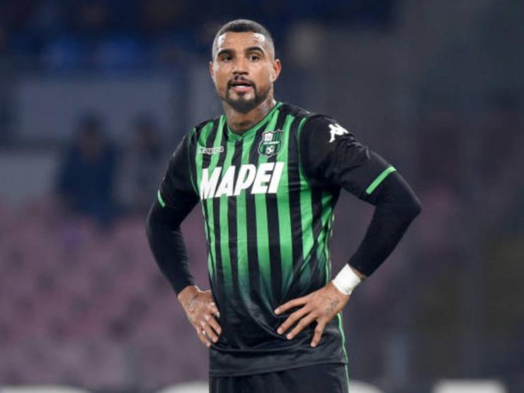 Kevin-Prince Boateng, attaccante dell'Hertha Berlino