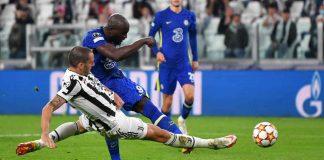 Lukaku in Juventus-Chelsea