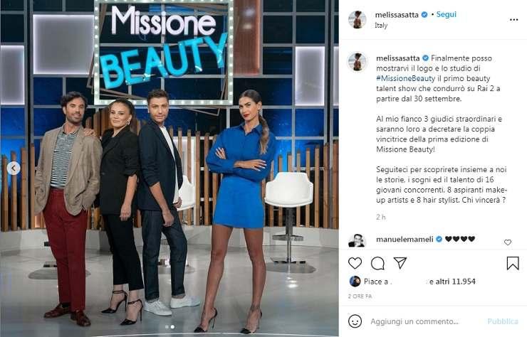 Melissa Satta presenta Missione Beauty