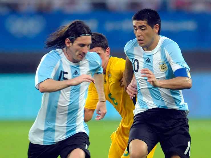 Messi Riquelme