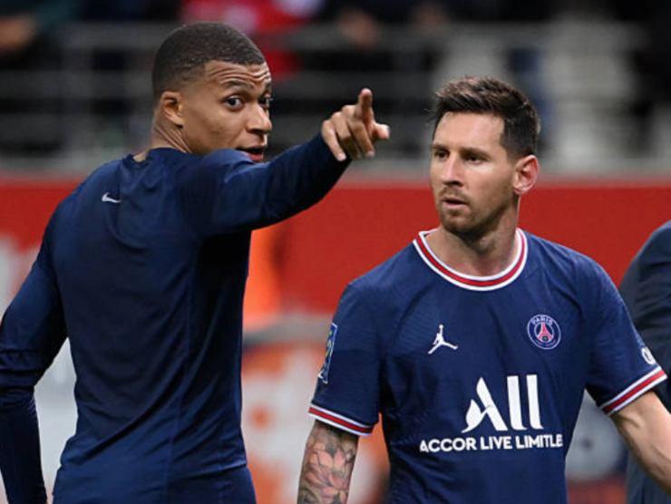 Messi e Mbappé, attaccanti del PSG