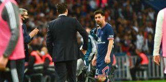 Messi e Pochettino, attaccante e allenatore del PSG