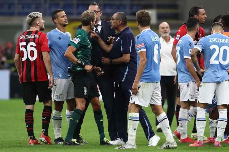 Milan e Lazio in campo