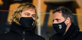 Juventus, Pavel Nedved e Fabio Paratici in primo piano