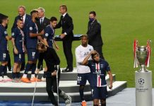 Psg in passerella - Getty Images