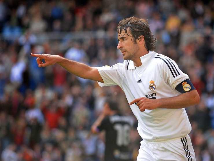 Raul Gonzalez Blanco Real Madrid