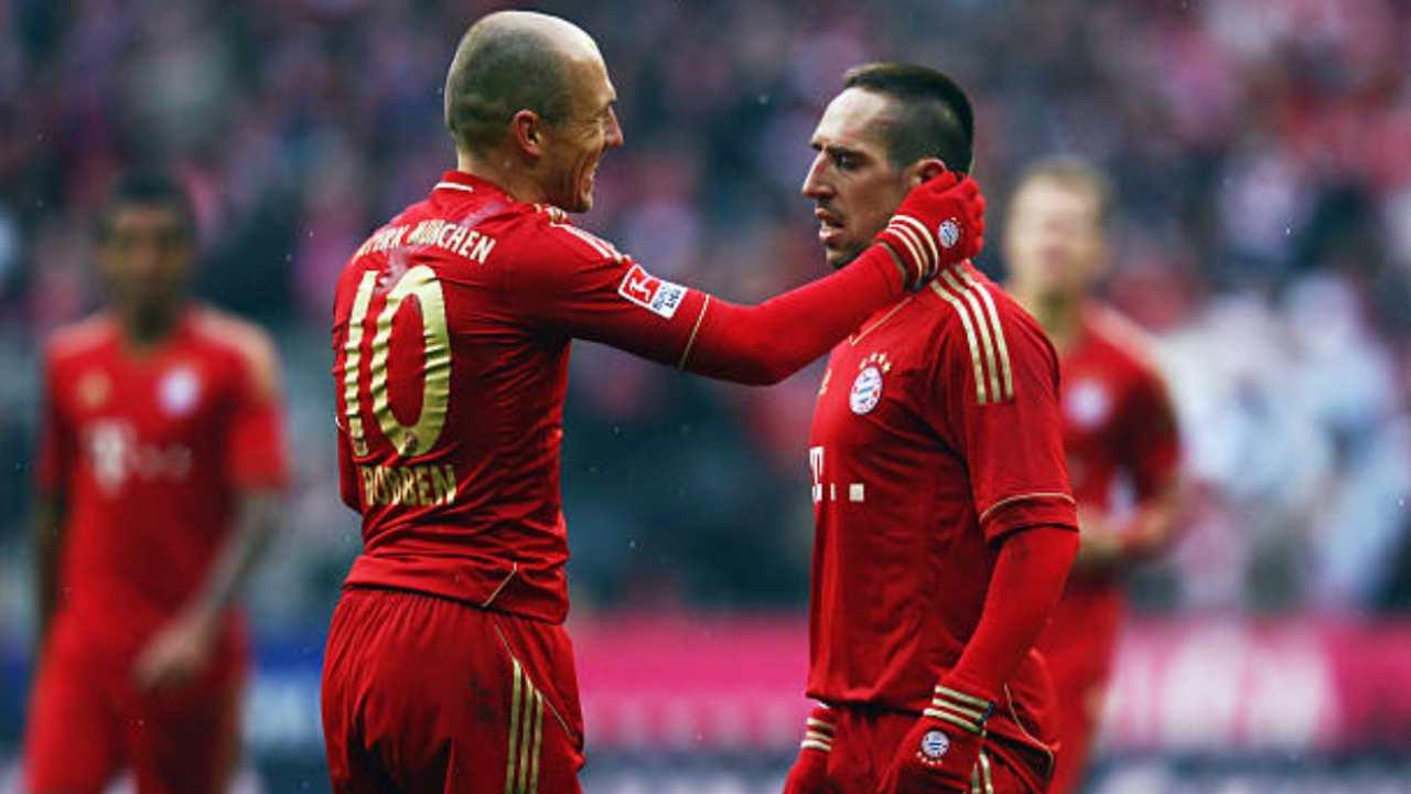 Robben e Ribery, ex giocatori del Bayern Monaco