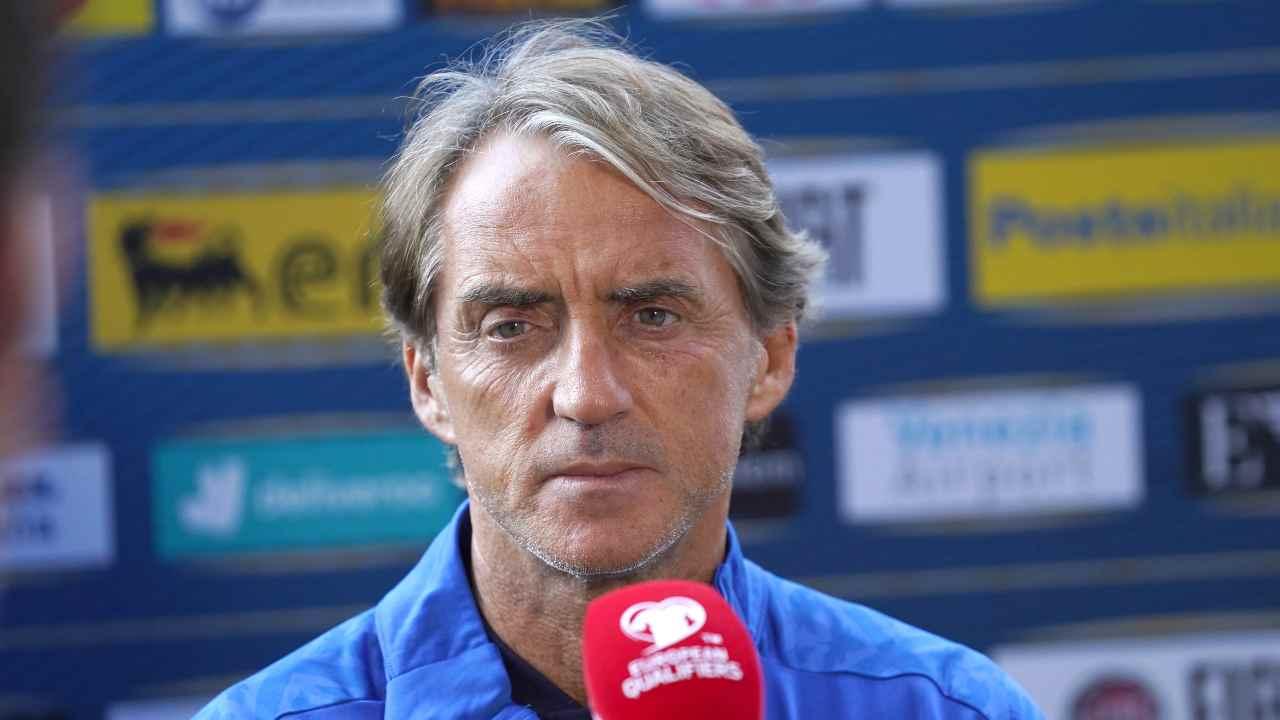 Italia Svizzera, Roberto Mancini in primo piano