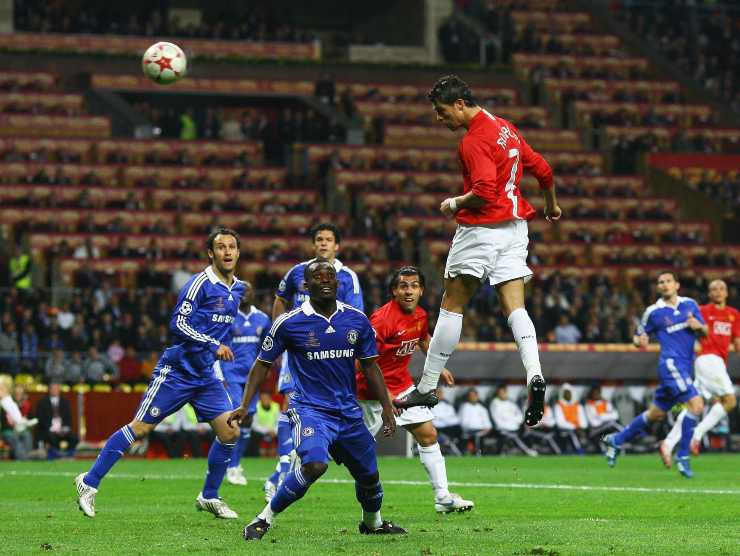 CR7 in finale manchester - Getty Images