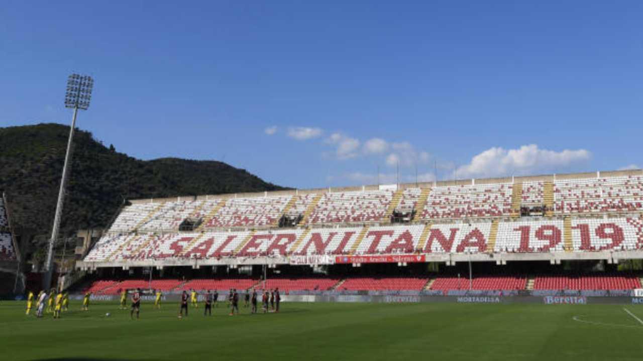 Arechi, lo stadio della Salernitana