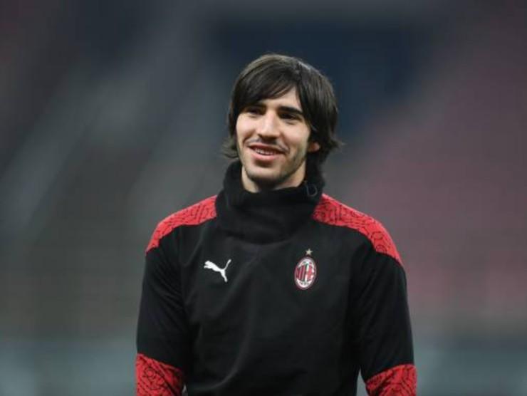 Sandro Tonali, centrocampista del Milan