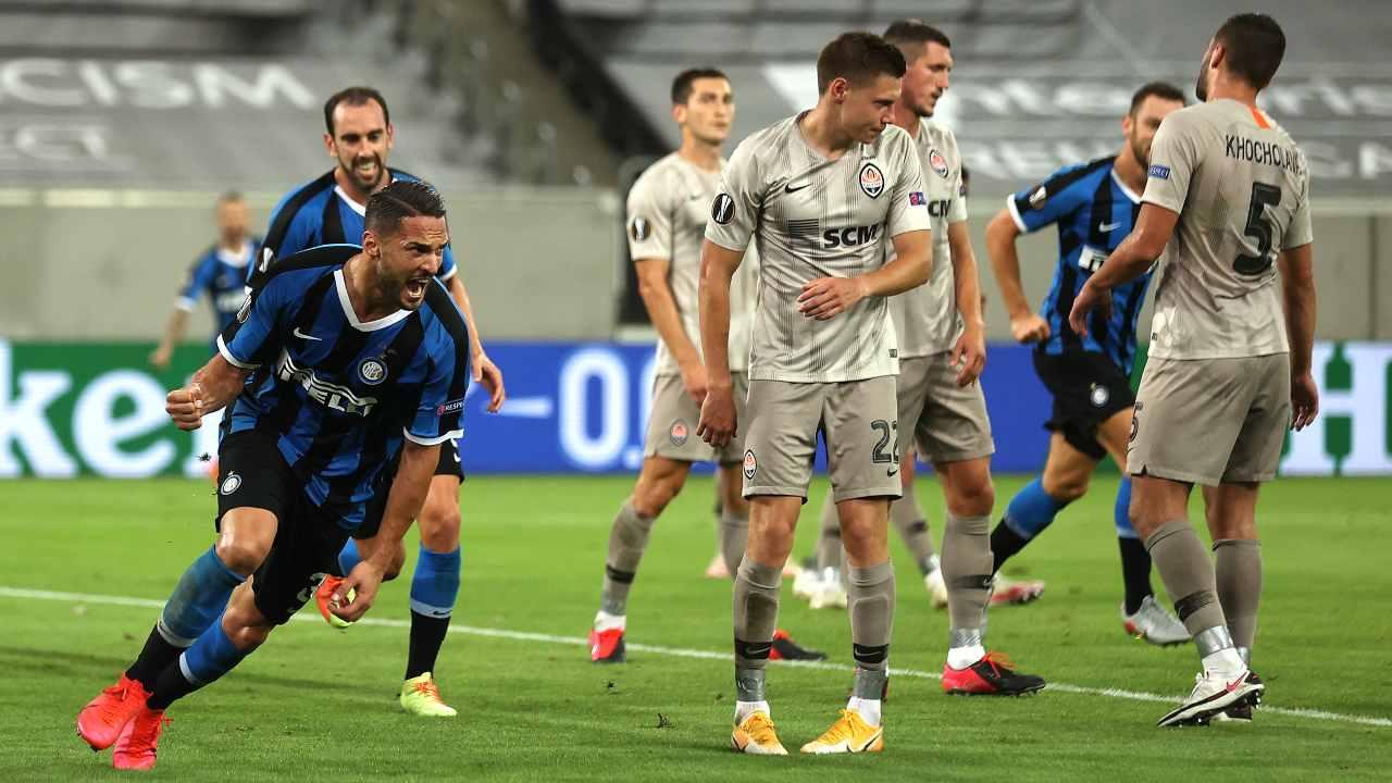 Shakhtar Inter D'Ambrosio
