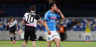 Udinese-Napoli in campo