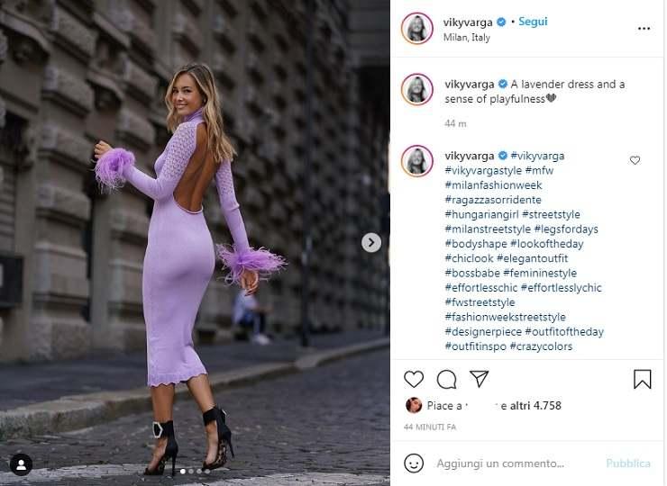 Viky Varga (screen da Instagram)