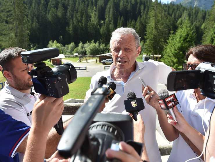 Zamparini ai microfoni - Getty Images