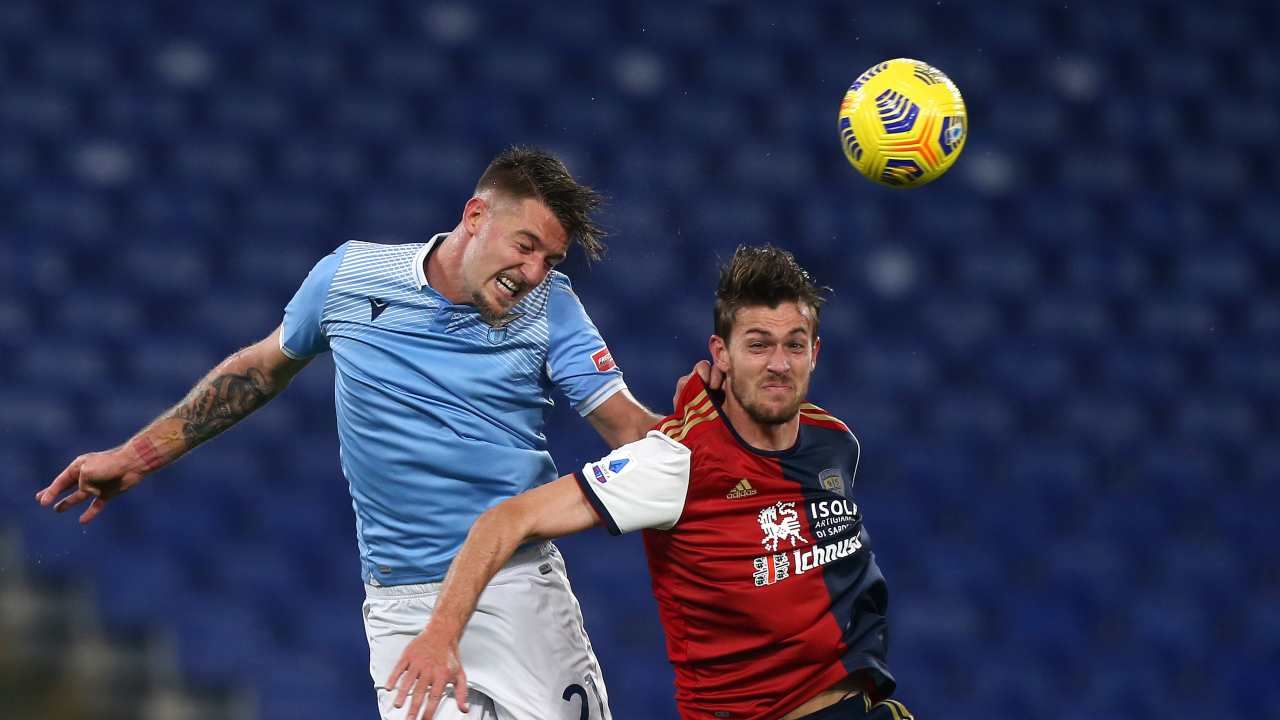 Contrasto Lazio-Cagliari  Getty Images
