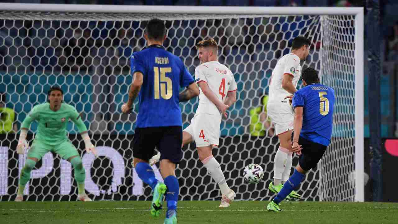 Locatelli gol Svizzera - Getty Images