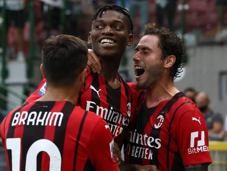 Milan esulta - Getty Images