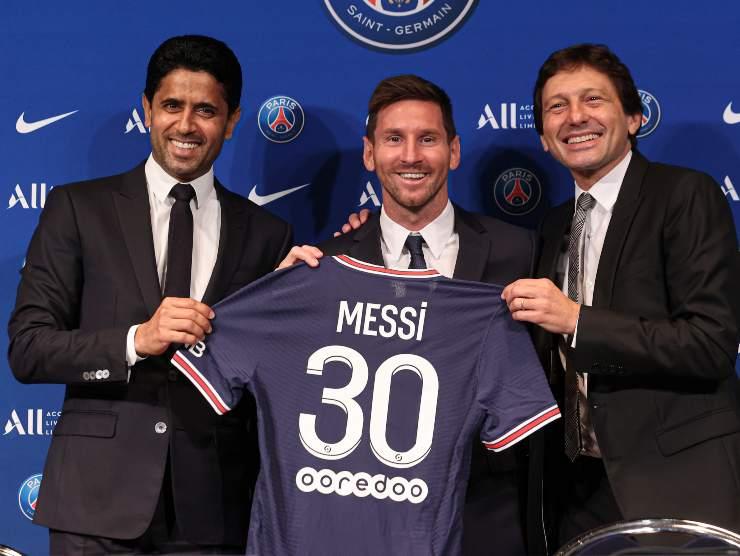 Presentazione Messi - Getty Images