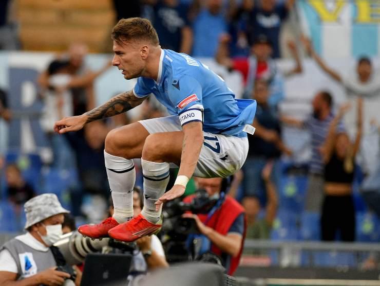 Immobile esulta salto - Getty Images