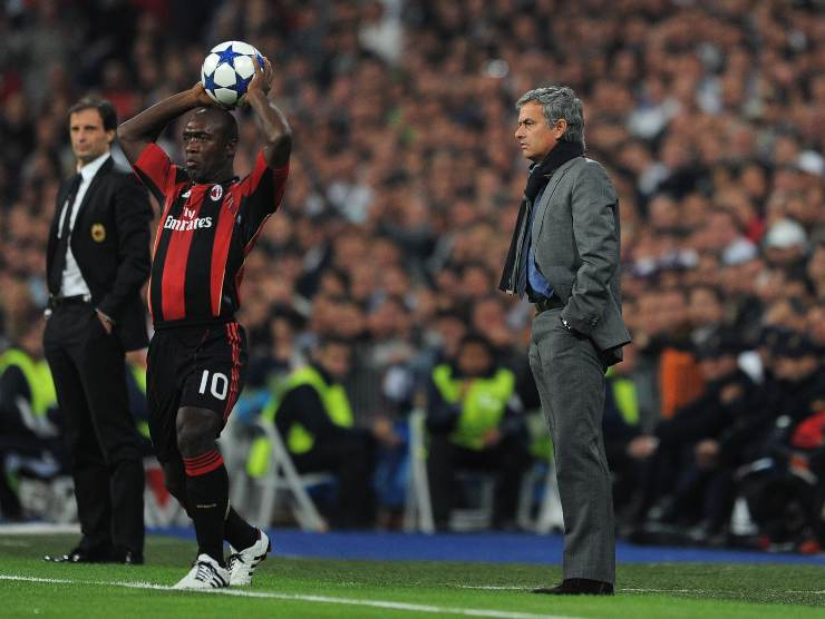 Allegri Seedorf Mourinho