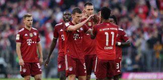 Bayern Monaco esultanza
