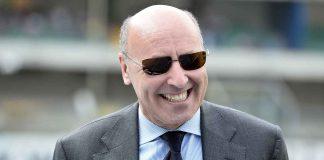 Beppe Marotta sorridente - Getty Images