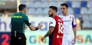 Fiorentina-Cagliari getty Images