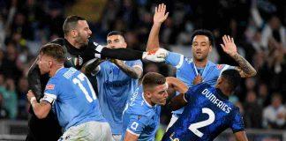 Lazio Inter rissa