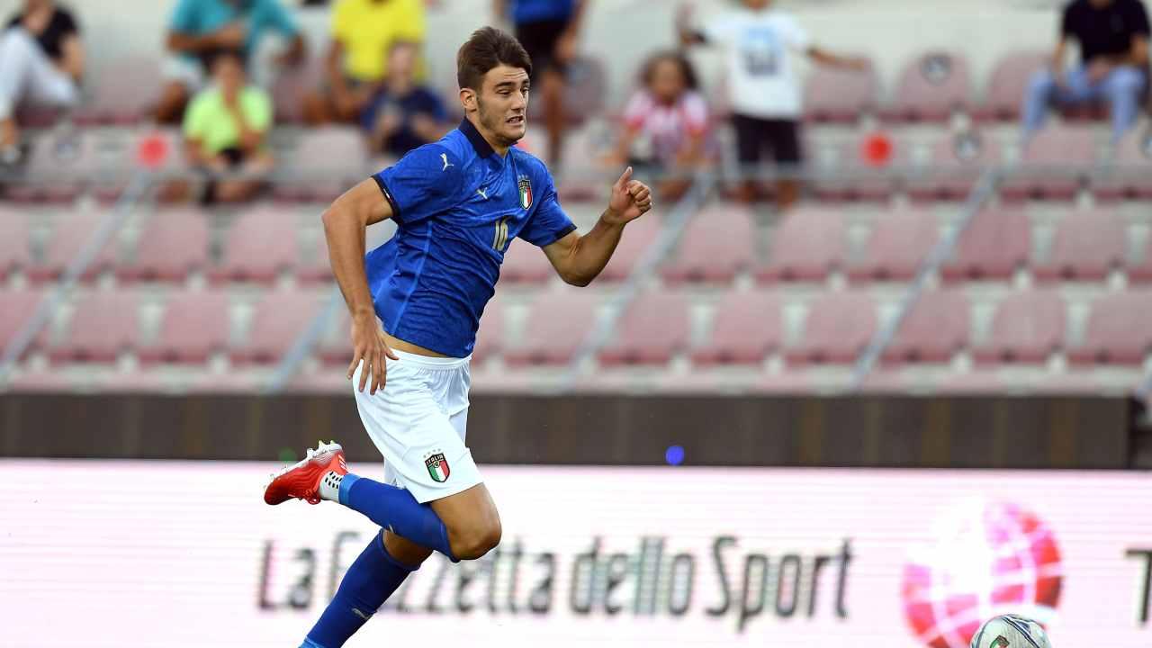Lorenzo Lucca Italia Under 21