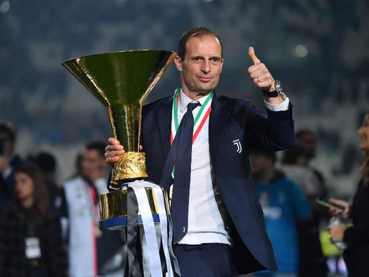 Max Allegri Juventus scudetto