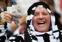 Newcastle tifosi